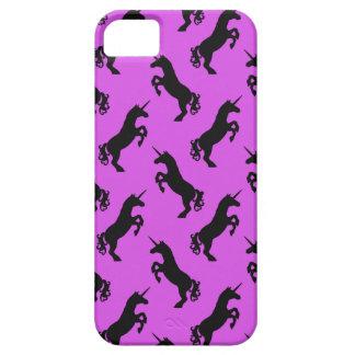 Coque iPhone 5 Case-Mate Cas de téléphone de rose et de noir de silhouette