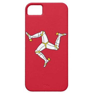 Coque iPhone 5 Case-Mate Cas d'IPhone 5 avec le drapeau d'île de Man, R-U