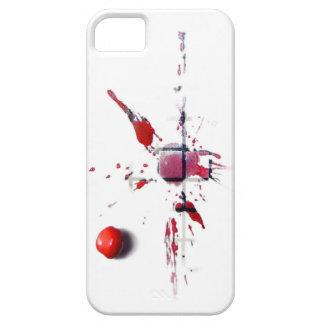 Coque iPhone 5 Case-Mate Cerise à plat
