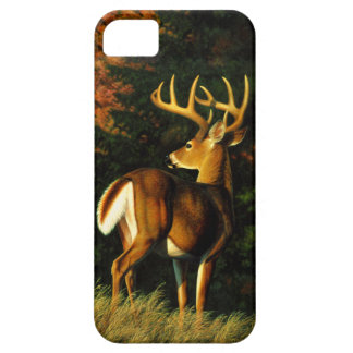 Coque iPhone 5 Case-Mate Chasse de mâle de trophée de cerf de Virginie
