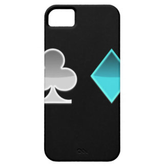 Coque iPhone 5 Case-Mate coeur trefle carreau pique
