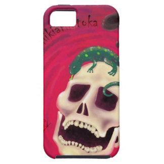 Coque iPhone 5 Case-Mate crâne salamandre