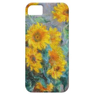 Coque iPhone 5 Case-Mate Cru de tournesols de Claude Monet floral