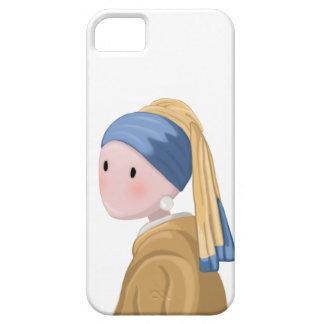 Coque iPhone 5 Case-Mate Fille avec une boucle d'oreille de perle