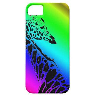 Coque iPhone 5 Case-Mate Girafe d'arc-en-ciel