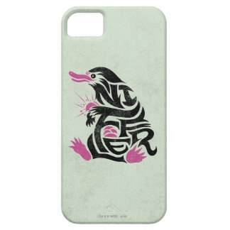 Coque iPhone 5 Case-Mate Graphique de typographie de Niffler