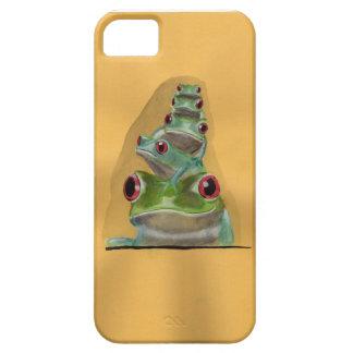 Coque iPhone 5 Case-Mate illustration de grenouilles