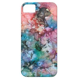 Coque iPhone 5 Case-Mate iPhone encré 5 de galaxie d'arc-en-ciel de licorne