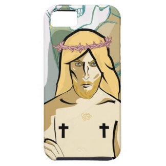 Coque iPhone 5 Case-Mate JeSus FiGhT