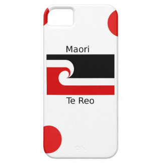 Coque iPhone 5 Case-Mate Langue de Te Reo et conception maorie de drapeau