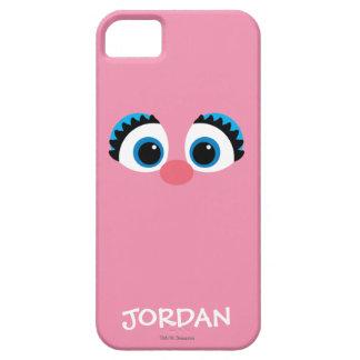 Coque iPhone 5 Case-Mate Le grand visage   d'Abby Cadabby ajoutent votre