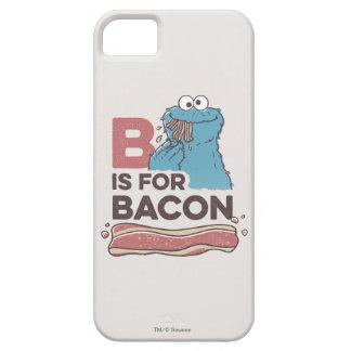 Coque iPhone 5 Case-Mate Le monstre de biscuit | B est pour le lard