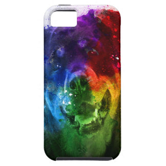 Coque iPhone 5 Case-Mate Les couleurs de l'amour sont un rottweiler