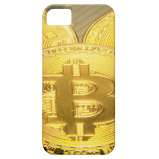 Coque iPhone 5 Case-Mate Macro grand mojo rond de Bitcoins