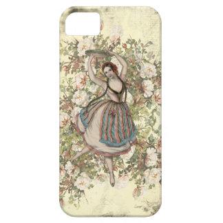 Coque iPhone 5 Case-Mate Mélange floral gitan et match de danse vintage
