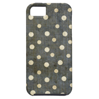 Coque iPhone 5 Case-Mate Motif de point noir et blanc sale de polka