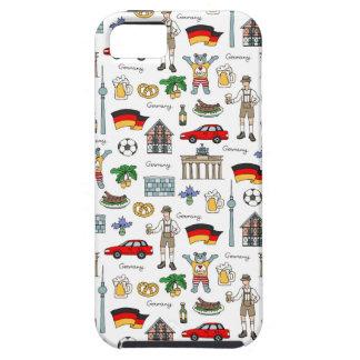 Coque iPhone 5 Case-Mate Motif de symboles de l'Allemagne |