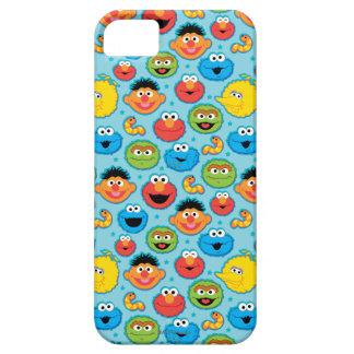 Coque iPhone 5 Case-Mate Motif de visages de Sesame Street sur le bleu