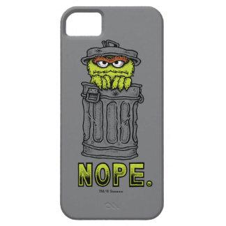 Coque iPhone 5 Case-Mate Oscar le rouspéteur - Nope.