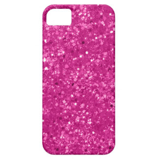 Coque iPhone 5 Case-Mate Parties scintillantes de rose de Faux