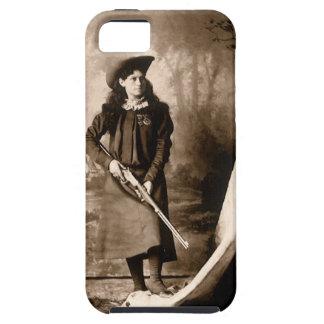 Coque iPhone 5 Case-Mate Photo vintage de Mlle Annie Oakley Holding un