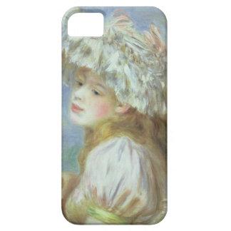 Coque iPhone 5 Case-Mate Pierre une jeune femme de Renoir | dans un