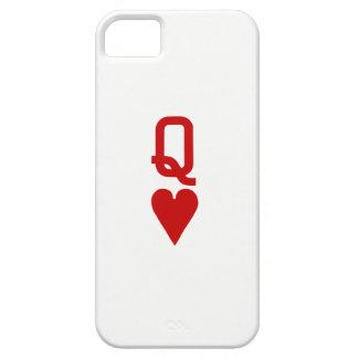 Coque iPhone 5 Case-Mate Reine de cas de l'iPhone SE/5/5S de coeurs à peine