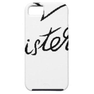 Coque iPhone 5 Case-Mate soeurs noires