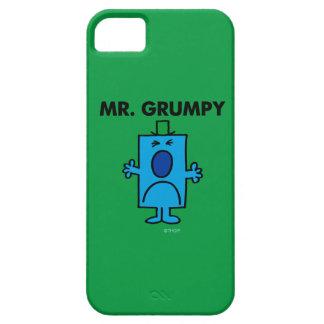 Coque iPhone 5 Case-Mate Visage de froncement de sourcils de M. Grumpy |