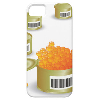 Coque iPhone 5 Caviar rouge
