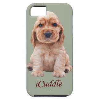 Coque iPhone 5 Cocker adorable d'iCuddle