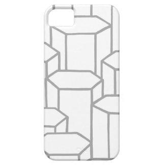 Coque iPhone 5 Colonnes hexagonales