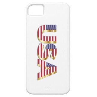 Coque iPhone 5 Couverture d'iPhone des Etats-Unis 3D
