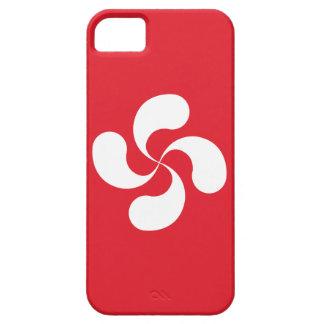"""Coque Iphone 5 /  Croix Basque """"Lauburu"""""""