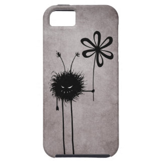 Coque iPhone 5 Cru mauvais dur d'insecte de fleur