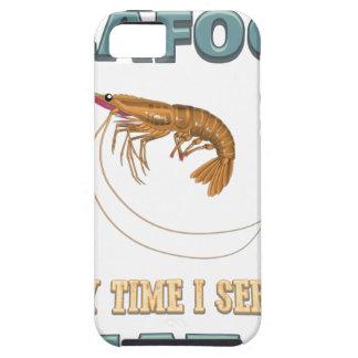 Coque iPhone 5 Des fruits de mer d'amour - vis suivant un régime