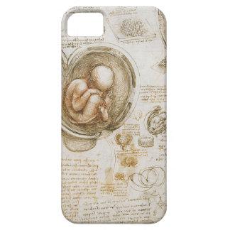 Coque iPhone 5 Études de Leonardo da Vinci du foetus dans