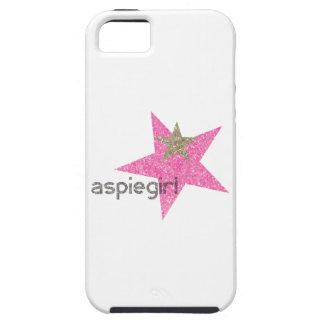 Coque iPhone 5 Femme d'Aspiegirl avec Aspergers