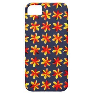 Coque iPhone 5 Fleurs chaudes de coucher du soleil