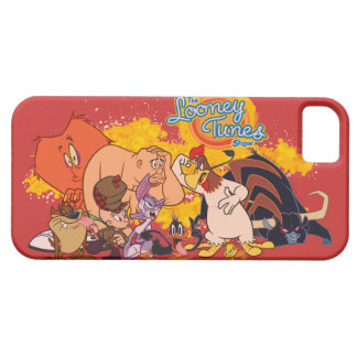 Coque iPhone 5 Fonte Looney et logo d'exposition d'airs