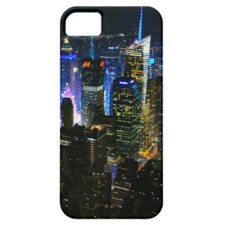 Coque iPhone 5 Gratte-ciel de Manhattan Etats-Unis de nuit de New