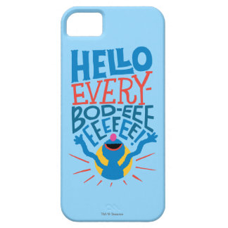 Coque iPhone 5 Grover bonjour