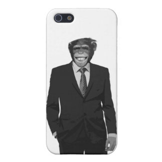 Coque iPhone 5 homme singe