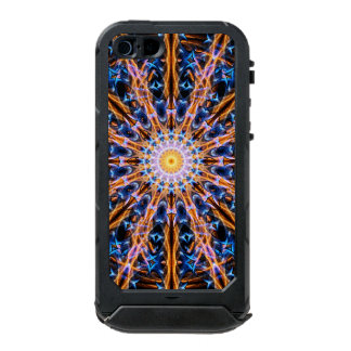 Coque iPhone 5 Incipio ATLAS ID™ Mandala d'étoile d'alchimie