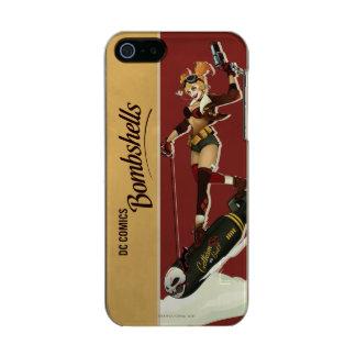 Coque iPhone 5 Incipio Feather® Shine Bombes de Harley Quinn de pin-up