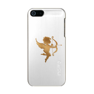 Coque iPhone 5 Incipio Feather® Shine Cupidon d'or
