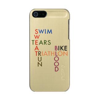Coque iPhone 5 Incipio Feather® Shine Larmes de sueur de sang de course de vélo de bain