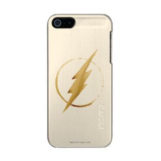Coque iPhone 5 Incipio Feather® Shine L'emblème | jaune instantané de coffre