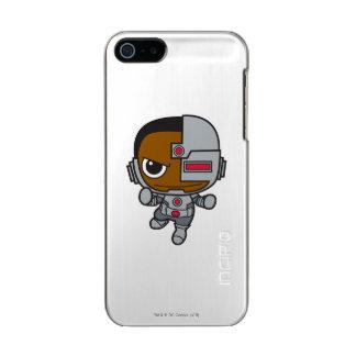 Coque iPhone 5 Incipio Feather® Shine Mini cyborg