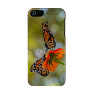 Coque iPhone 5 Incipio Feather® Shine Papillons de monarque sur des fleurs sauvages